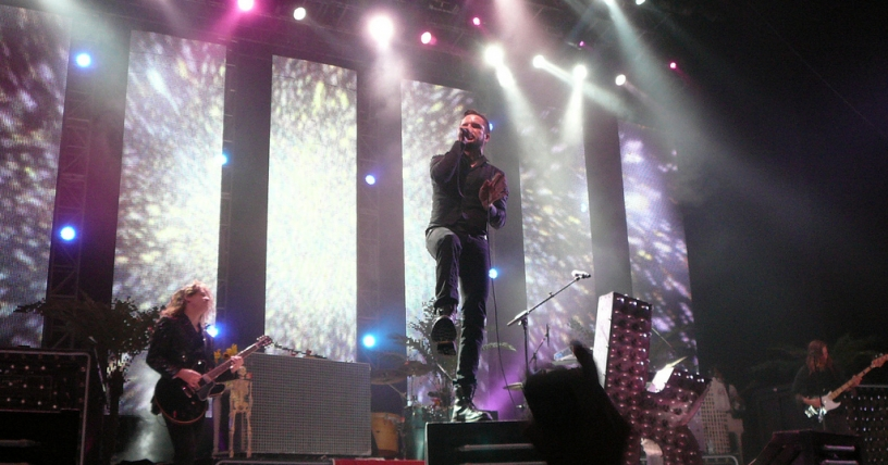 El electrizante paso de The Killers por Santiago