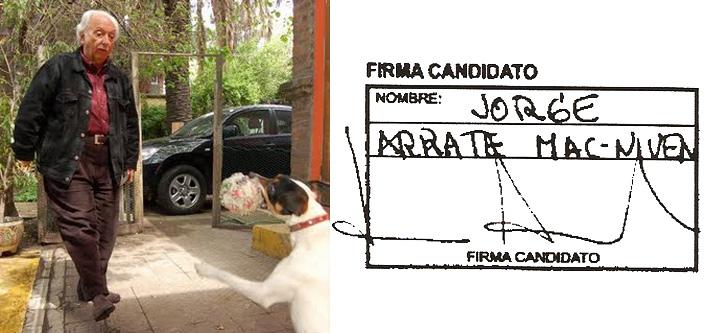 Jorge Arrate Con Firma