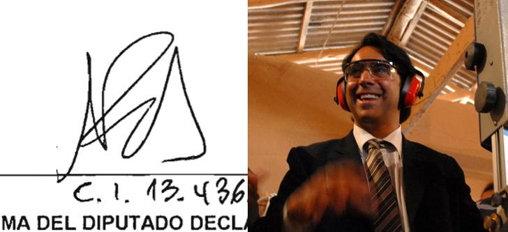 Marco Enríquez-Ominami Con Firma