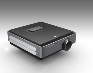 LG CF3D Proyector HD CES