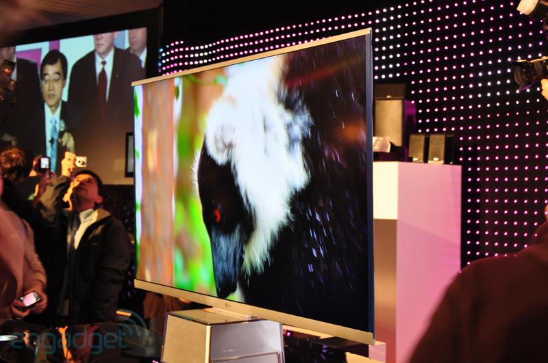 LG Pantalla LED 6.9mm HDTV CES 2010 Engadget