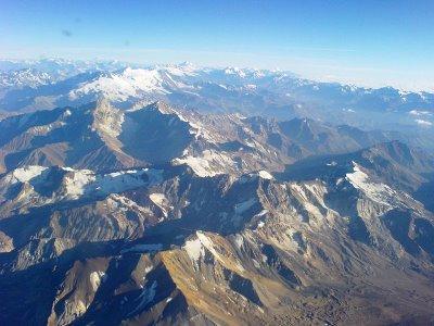 Andinistas perdidos en la Cordillera de Los Andes fueron rescatados este lunes