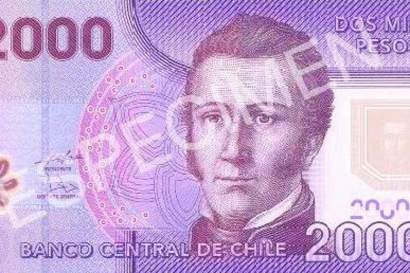 Banco Central pone en circulación billete de 2.000 pesos