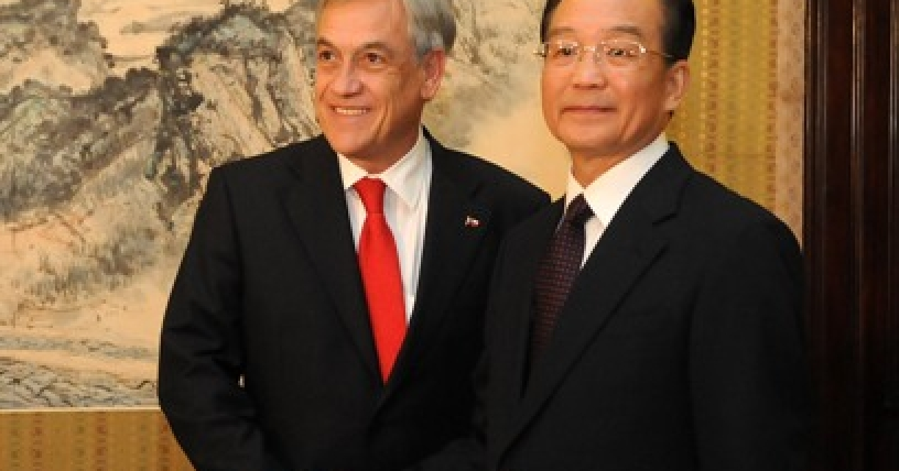 Presidente Piñera reclama a China