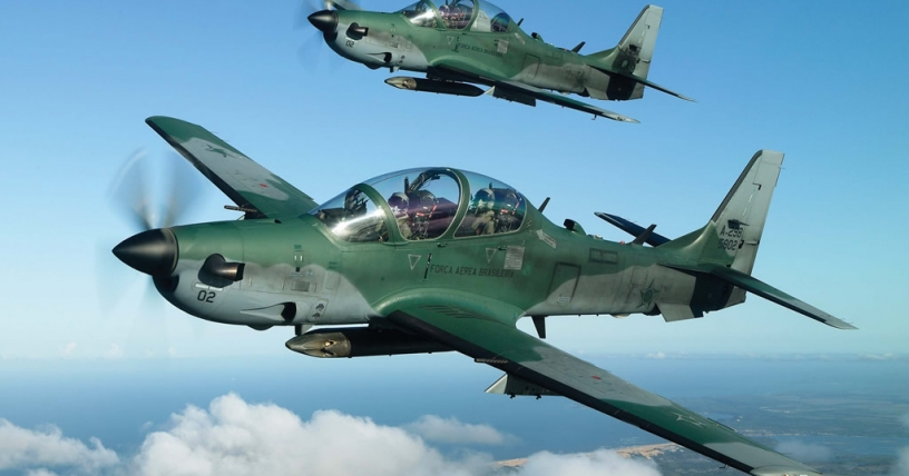 Embraer vende ocho aviones de defensa Súper Tucano a Indonesia