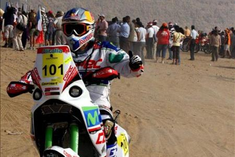 Francisco López sufrió accidente en Rally de Túnez 2011