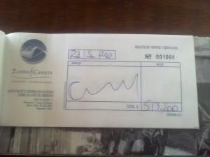 Más de medio millón de pesos fue el monto de la cuenta en el restaurant ZambaCanuta.