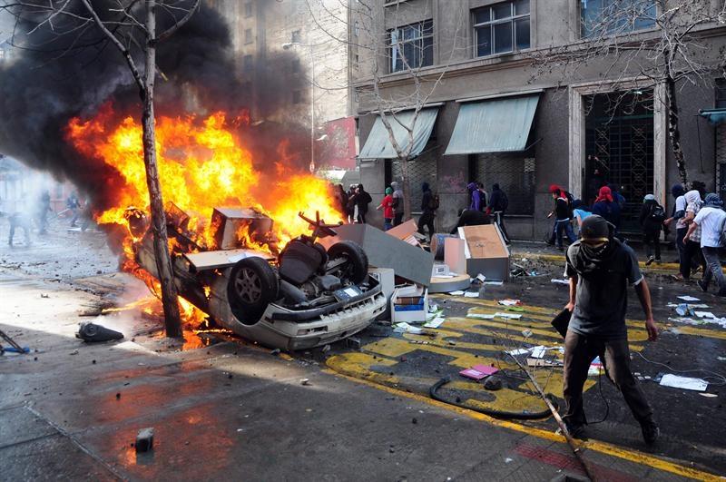 vehiculo quemado