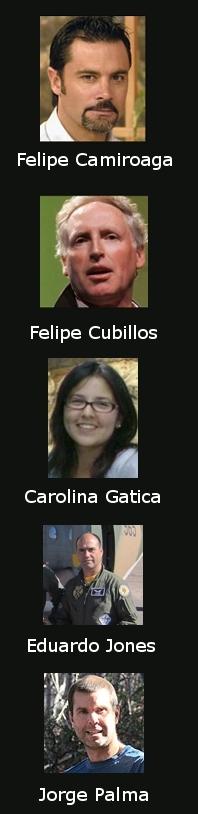 Cinco víctimas