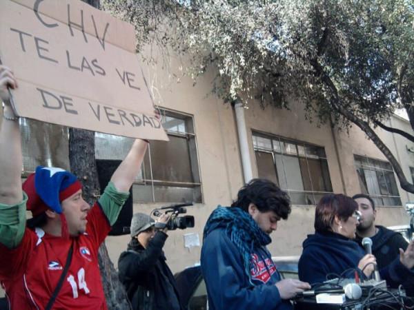 Huelga en CHV