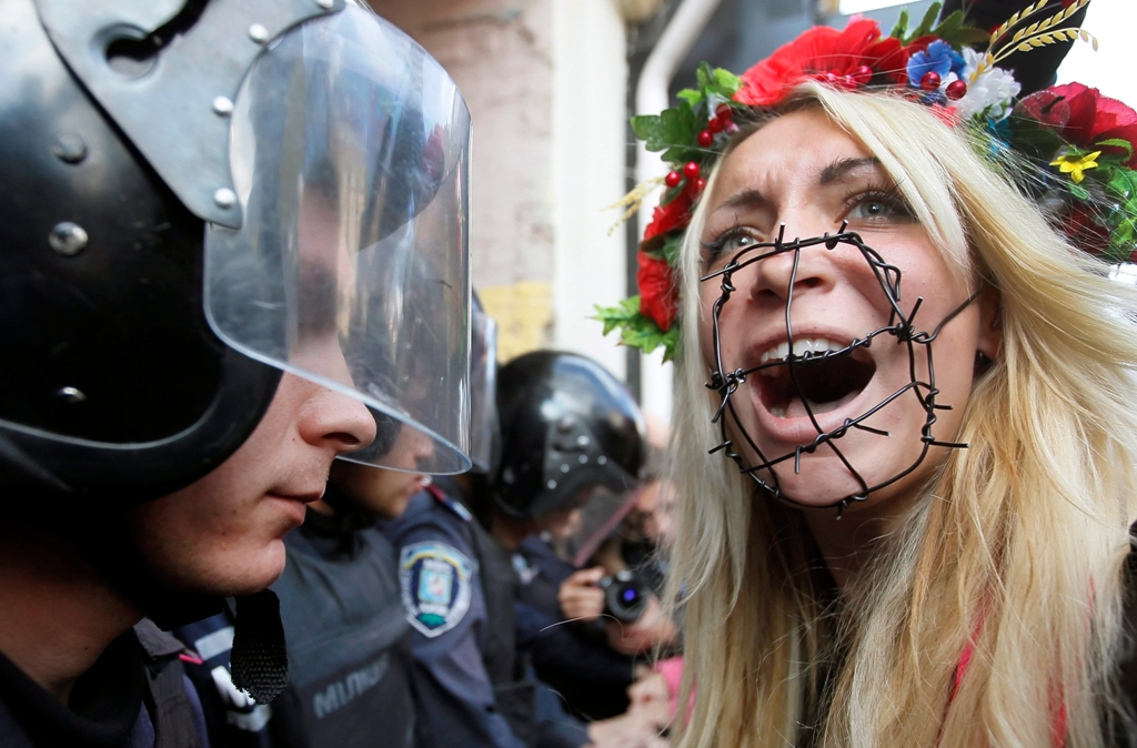 Ucranianas protesta 2