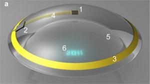 El aparato emplea información visual generada por una computadora y puede ser usado en juegos o sistemas de navegación.