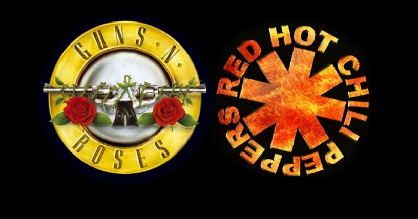 Guns N' Roses y Red Hot Chili Peppers entrarán en Salón de la Fama del Rock