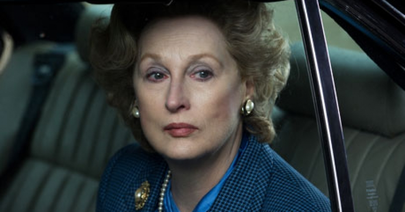 "Meryl Streep interpreta a Margaret Thatcher en ""The Iron Lady"""