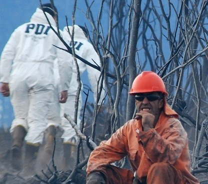 Atacan con hacha a inspector de la PDI que ayudaba a combatir incendios en el Bío Bío