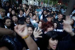 Protestas estudiantiles en Providencia