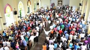 Las iglesias protestantes y, en particular, las casas de cultos neopentecostales tienen un crecimiento vertiginoso.