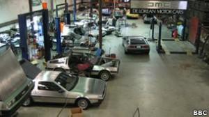 La nueva fábrica de DeLorean se encuentra en Houston, Texas.