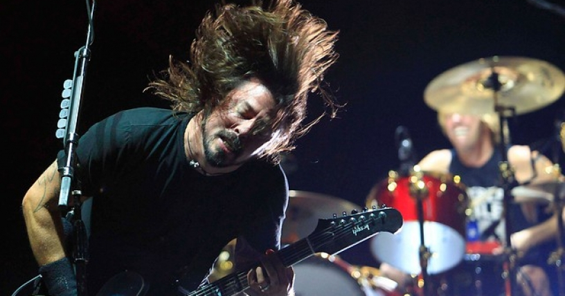 Foo Fighters cierra espíritu verde de Lollapalooza Chile