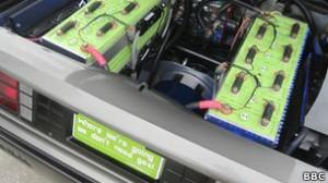 El DeLorean de la película utilizaba un condensador de flujo para viajar en el tiempo.