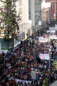 Marcha estudiantes 300