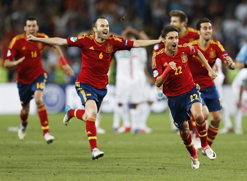 Euro 2012: España avanza a la final tras superar por penales a Portugal