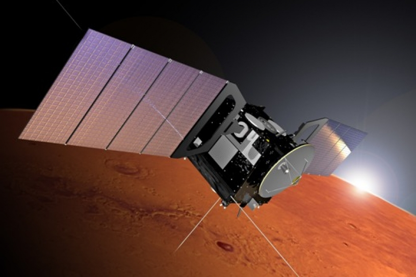 Mars Express encuentra