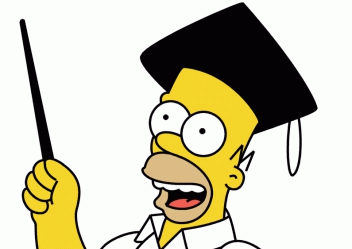 Homero Simpson y la Universidad