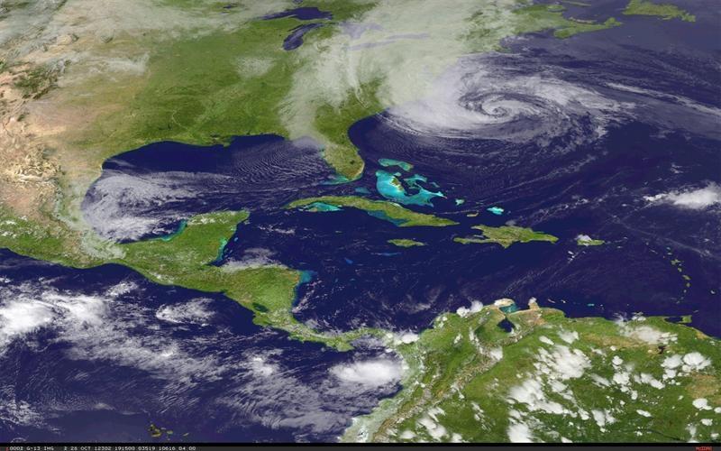 Una ciudad de Nueva York paralizada recibe al huracán