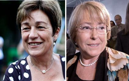 Josefa Errázuriz marca distancia con Bachelet y le dice que en Chile