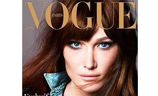 Carla Bruni posa para Vogue, se declara una