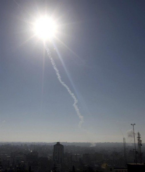 Misil disparado desde Gaza cae por primera vez en 40 años cerca de Jerusalén