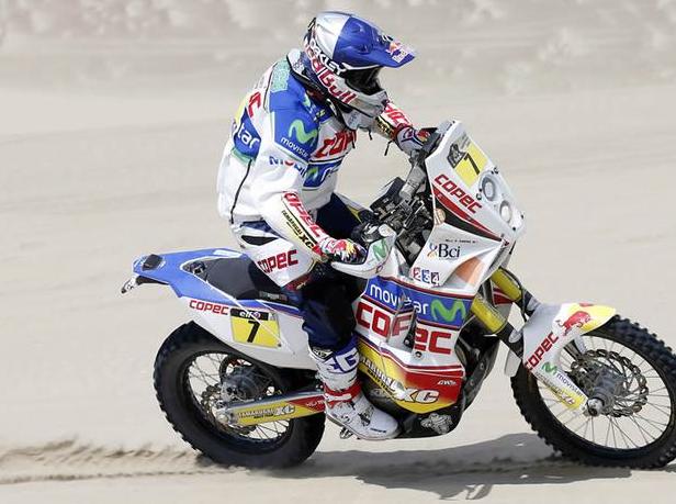 Dakar 2013: 'Chaleco' López bajó al cuarto lugar de la general tras octava etapa