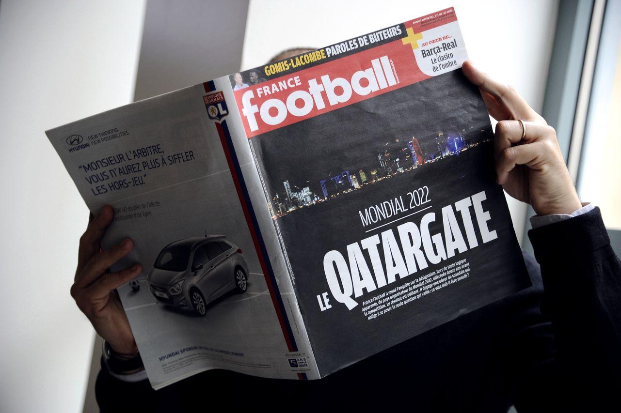FRANCE-MEDIAS-FBL-JUSTICE-QATAR