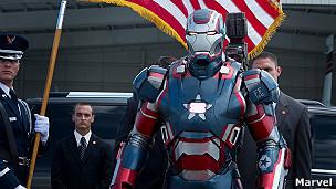 """Iron Man 3 fue descrita como """"la primera franquicia multimillonaria producida entre Hollywood y China""""."""