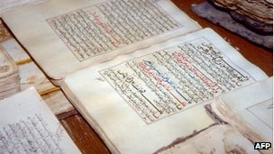 Los manuscritos destruidos databan del siglo XIII.