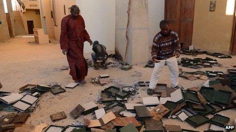 Muchos documentos se salvaron porque fueron enviados a Bamako.