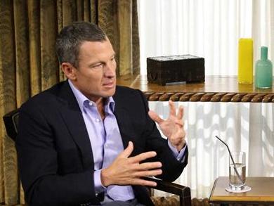 Lance Armstrong no dejó ninguna duda de ser un auténtico