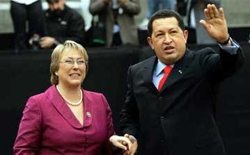 Chavismo y Bacheletismo: dos caras de la moneda