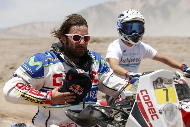 'Chaleco' López gana la 13° etapa del Dakar y sube al segundo lugar de la general