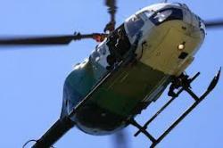 Gobierno promete refaccionar aviones y helicópteros para combate de incendios forestales