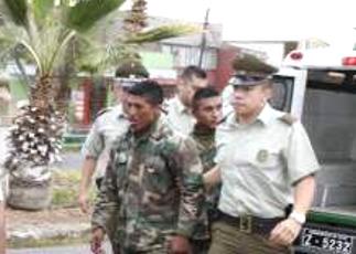 Detienen a tres militares bolivianos armados en territorio chileno