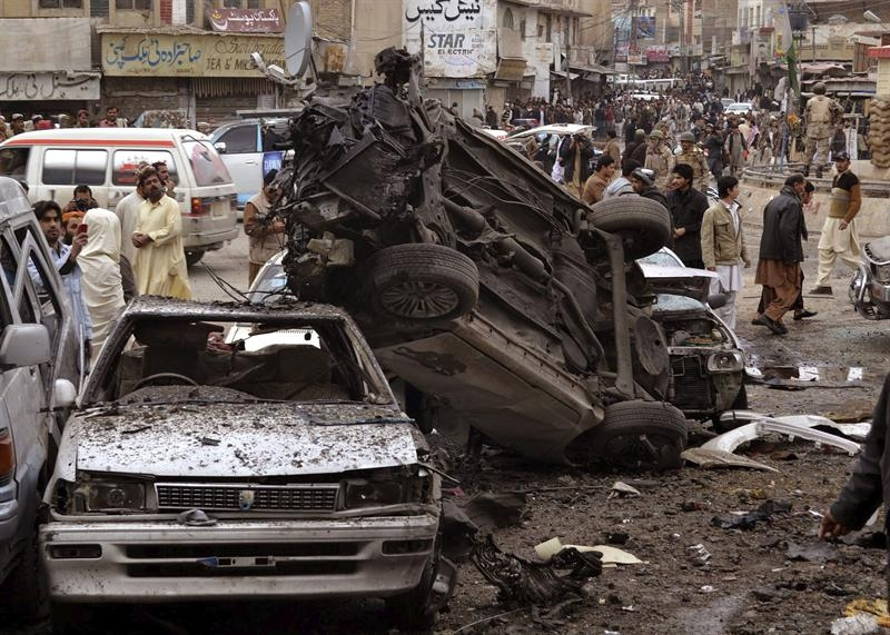 Al menos 81 muertos tras doble ataque terrorista en Pakistán
