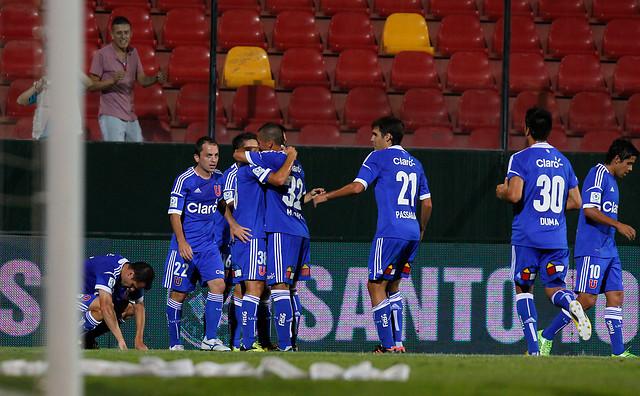 La 'U' ganó 2-0 a Unión Temuco y es semifinalista de la Copa Chile