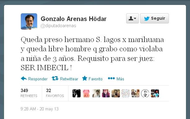 Gonzalo Arenas Twitter