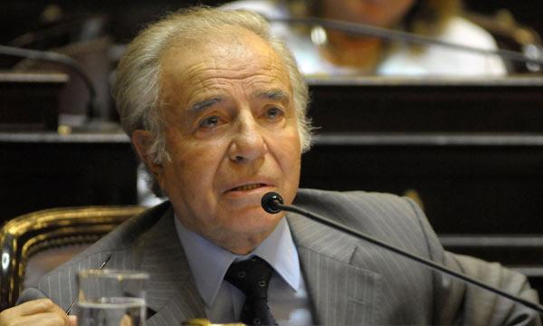Justicia argentina pide 8 años de cárcel y desafuero para ex presidente Carlos Menem