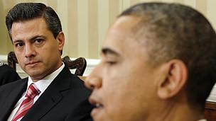 Las dos agendas de Obama en México
