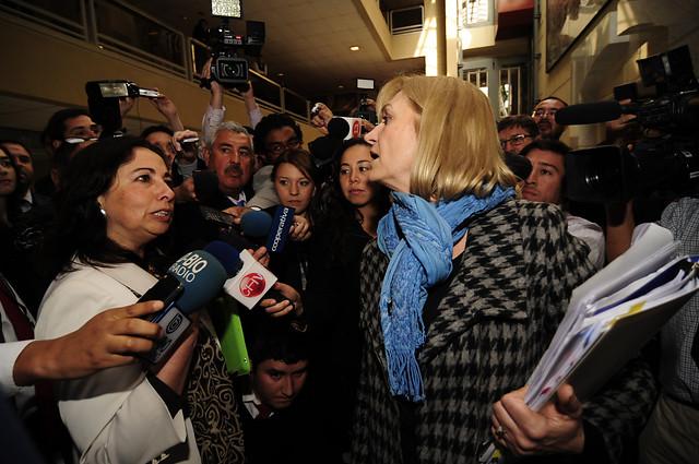 Alejandra Sepúlveda encara a Evelyn Matthei por supuesta