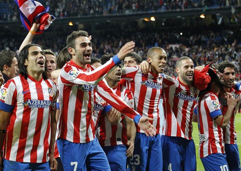 El Atlético de Madrid salda sus deudas y se lleva la Copa del Rey
