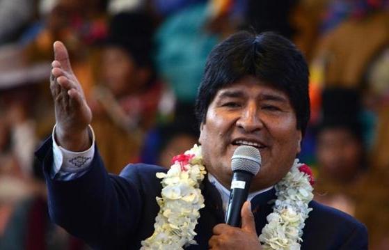 Evo Morales destaca como